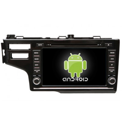 Central Multimidia Android Honda Fit 2014 2015 2017