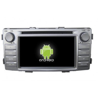Central Multimidia Android - Toyota Hilux/SW4 (2012/2013 -Diesel) e (2014/15 - Flex/Diesel)
